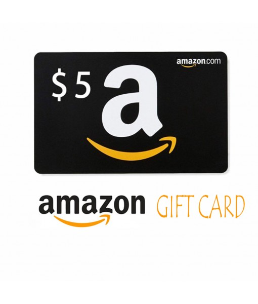 Amazon.Com $5 Gift Cards Email Delivery