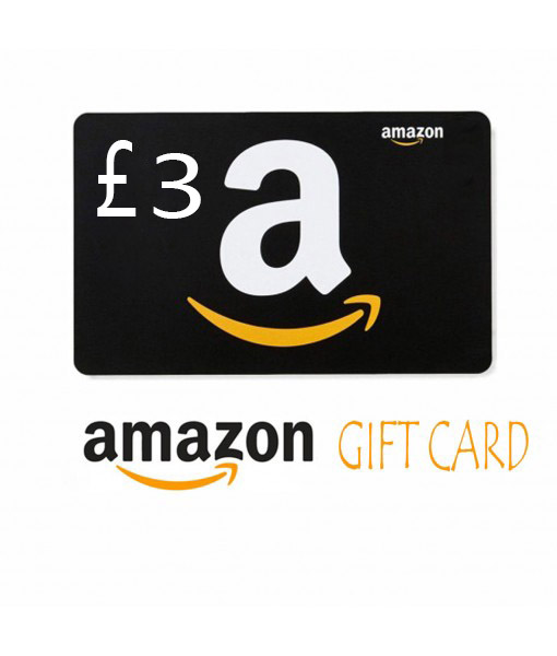 Amazon.co.uk   £3 Gift Cards Email Delivery