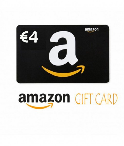 Amazon.de / fr /it /es €4  Gift Cards Email Delivery